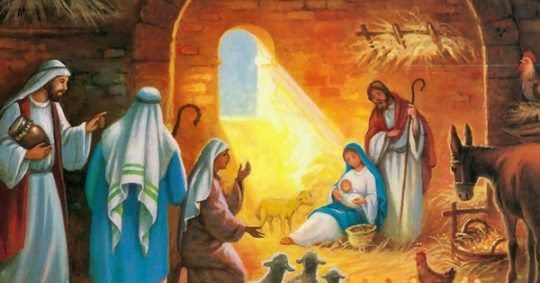 The point which religious leader virgin birth